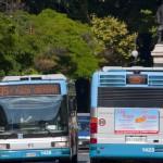 Spazi pubblicitari sugli autobus